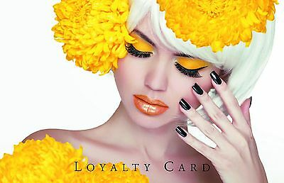 100 x Hairdresser Beauty Salon Loyalty Cards *Appointment Cards also available*