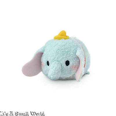 "Disney Store USA Authentic Dumbo Tsum Tsum Mini 3 1/2"" NWT"