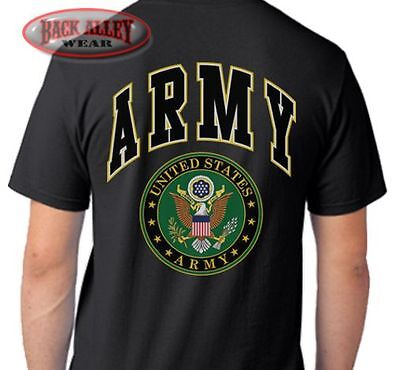 ARMY T-SHIRT Tee ~ United States Military ~ Soldier Veteran US ARMY STRONG