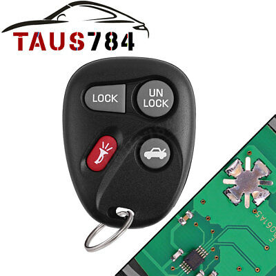 Keyless Entry Remote Control Car Key Fob Replacement for Chevy 10443537