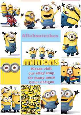 b542ef5d86 FULL COLOUR A4 Despicable Me 3 minions on UK scooter vinyl wall art ...