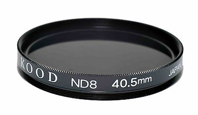 Kood ND8 (Three Stop) Optical Glass Filter 40.5mm Made in Japan