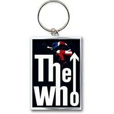 The Who flèche saut logo UK flag trousseau de métal officielle