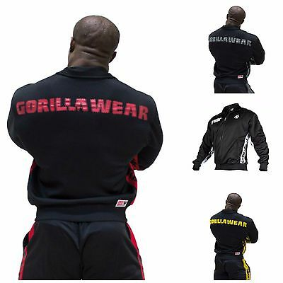 Gorilla Wear Track Jacket Bodybuilding Fitness