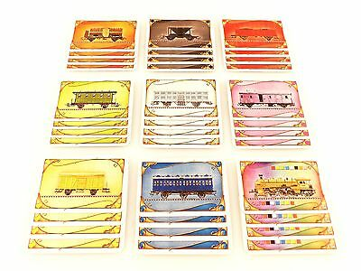 Ticket To Ride USA Replacement / Expansion Train Car Game Card Set 36pc