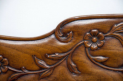 *CAN BE SHIPPED* Bodart King CARVED French Provincial Louis XV Bed Headboard