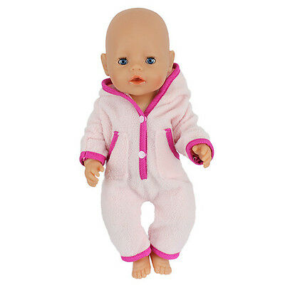 Nice Doll Clothes Wearfor 43cm Baby Born zapf (only sell clothes )