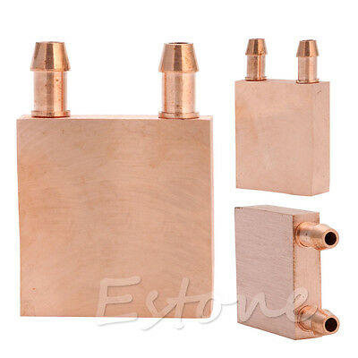 Copper Water Cooling Block CPU PC Computer For Graphics GPU Endothermic Head