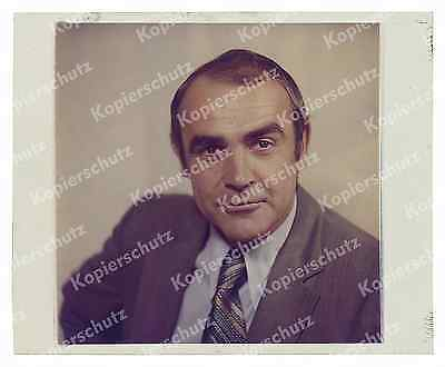 o. Kodak-Farbdia 12 x10 Porträt Sean Connery James Bond 007 Diamantenfieber 1971