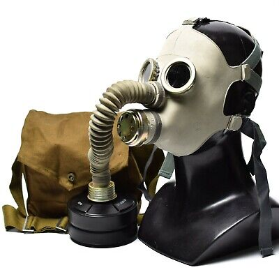 Soviet russian gas mask PDF-7. full set. Cyber steampunk gothic industrial punk