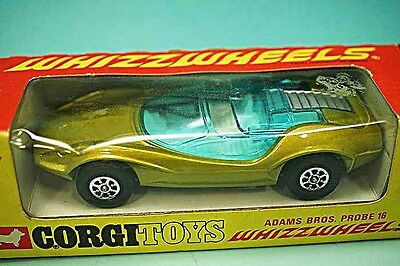 Corgi Whizzwheels Adams Bros Probe 16 Car 384 Mint & Boxed 1970 Mettoy England
