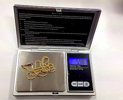Electronic Pocket Mini Digital Gold Jewelry Weighing Scale 0.01g Weight 100 Gram