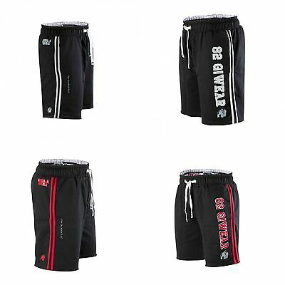 Gorilla Wear 82 Sweat Shorts schwarz/rot schwarz/grau black/red black/grey