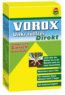 vorox unkrautfrei direkt 15ml unkrautbek mpfungsmittel auch gegen giersch eur 9 68 picclick de. Black Bedroom Furniture Sets. Home Design Ideas