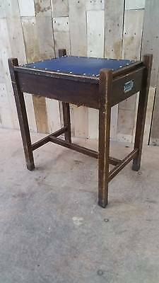Retro Vintage Wooden Piano Stool With Storage - Shabby Chic??