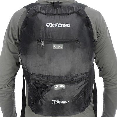 Oxford X Handy Sack Motorcycle Fold Away BackPack RuckSack - 15 Litre