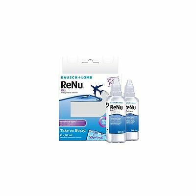 ReNu MultiPlus 2 x 60 ml Flight Pack  Soluzione Lenti a Contatto SolutionPflegem