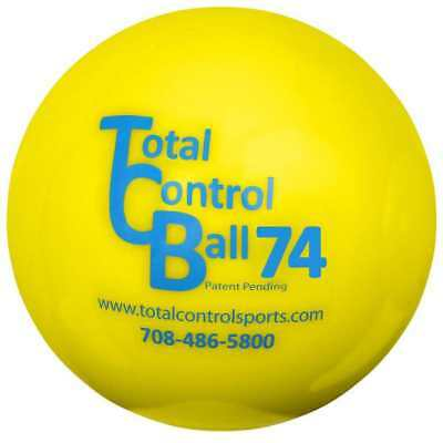 Total Control Sports TCB 74 Ball, 2.9-Inch and 425 Grams. 1 dozen TCB-Y-425-74