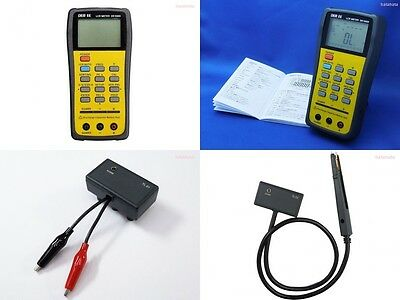 New DER EE DE-5000 High Accuracy Handheld LCR Meter with TL-21 TL-22 From Japan