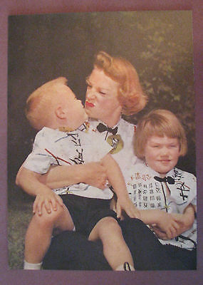June Allyson and Kids Vintage Magazine Photo Rare