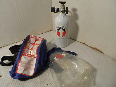 Survivair EBA-5 Permissible 5 Five Minute Compressed Air Breathing Apparatus