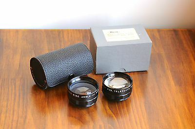 RICOH 35 Flex Auxiliary Lens Set,   Ricoh AUX. Wide Angle and Telephoto