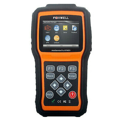 Auto Scan Tool For Oil Service Reset EPB Battery Configuration Foxwell NT4021 Pr
