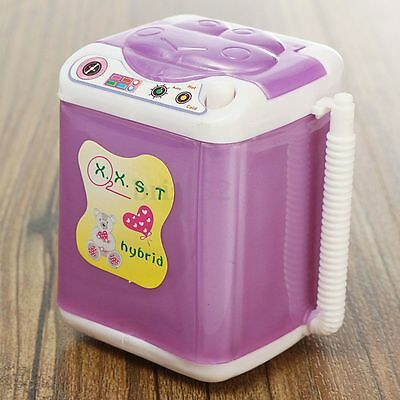 Dollhouse Washing Machine Washer Laundry Room Furniture Gift For Barbie Dolls