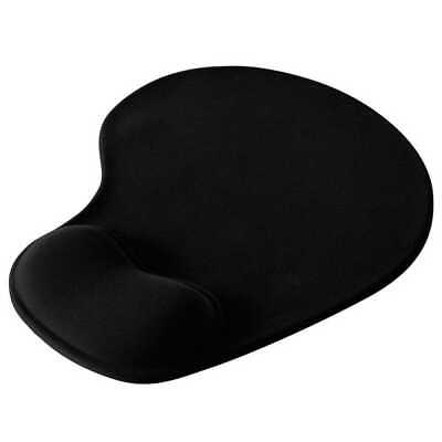 Tapis de souris ergonomique repose poignet ultra fin confort optimal Noir