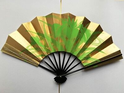 Vintage Japanese Geisha Odori 'Maiogi' Folding Dance Fan from Kyoto: Design Y