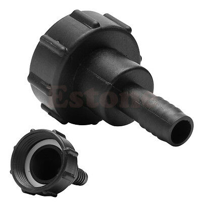 1000L IBC To 3/4 Inch 20MM Water Tank Black Garden Hose Adapter Fitting Tool