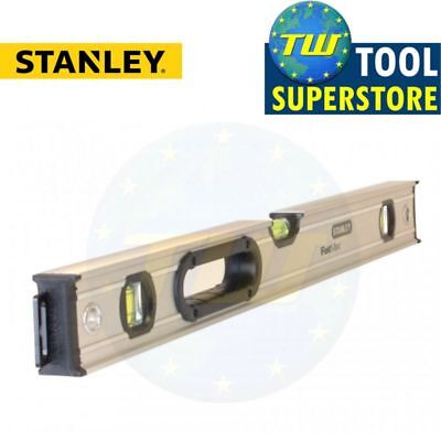 "Stanley Fatmax Xtreme 60cm Pro Box Beam Spirit Level 24"" 600mm STA043624 0-43-62"