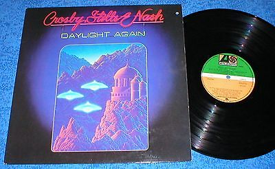 CROSBY STILLS & NASH SPAIN LP 1982 DAYLIGHT AGAIN Acoustic Classic Rock Country
