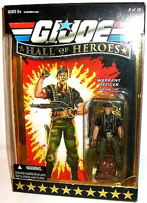 G.I.JOE Hall of Heroes - Warrant Officer (Flint) Actionfigur HASBRO ca.10cm (L)
