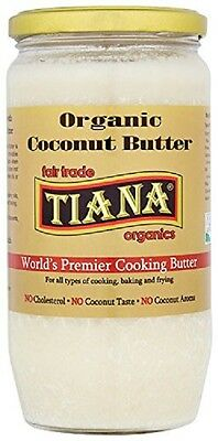 Tiana Organic and Fairtrade Pure Coconut Butter 750ml