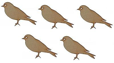 MDF Wooden Bird Shapes Laser Cut 3mm Wood Bird Shape Craft Designs Decorations