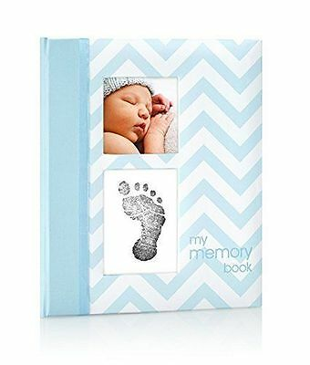 Pearhead Baby Memory Book, Clean Touch Ink Pad, 60 Pages, New, Free Shipping