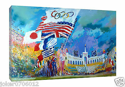 Original Oil Painting HD Print On Canvas Art Deco Wall Art,Leroy Neiman Athletes