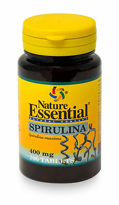 ESPIRULINA SPIRULINA100 tableta 400 mg NATURE ESSENTIAL