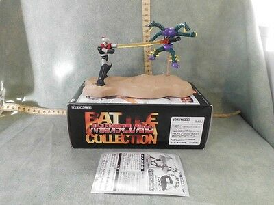 MAZINGA Z Vs DOUBLAS GASHAPON ACTION FIGURE  ROBOT BANPRESTO 2000