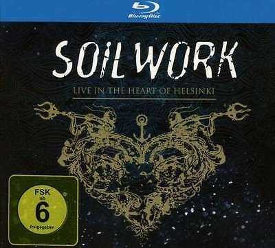 Soilwork - Live In The Heart Of Helsinki (Limited Edition) NEW 2CD + BLU RAY