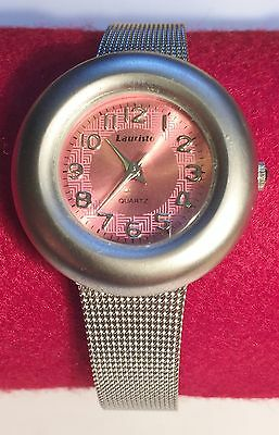 "New ""LAURISTO"" Quartz Movement Ladies Wrist Watch  Stainless Steel Back (2)"