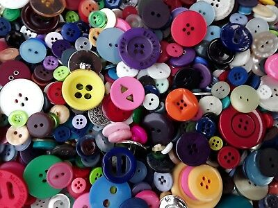 Sewing Button Mix #1 Bulk Lots of 100, 200, 300, 400, 500 New and Vintage