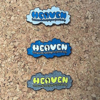 Widespread Panic HEAVEN PIN SET Of 3 (Not Poster)