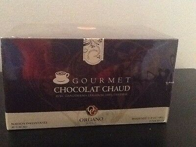 Organo Gold Gourmet Hot Chocolate With 100% Certified Ganoderma Lucidum