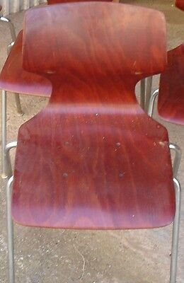 FLOTOTTO Sculpted vintage chairs (Set of 4 / selling per piece)