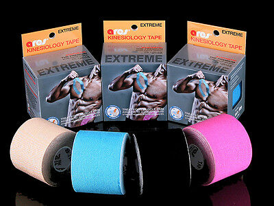 Ares Tape Synthetic Extreme Uncut Kinesiology Elastic Sports Tape PRO Support KT