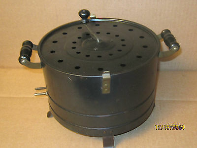 Rare Early Antique Popcorn Popper 1920-30s Art Deco Appliance No Cord