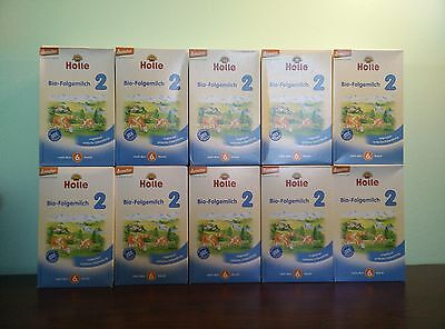 Holle Organic Stage 2 Baby Infant formula (10 Boxes) /Box PRIORITY Shipping