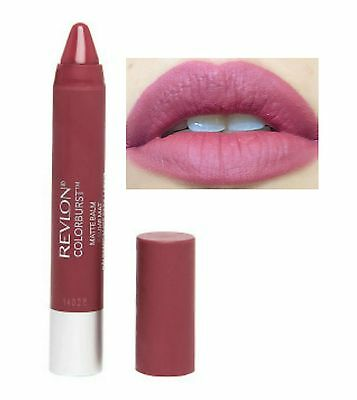 Revlon COLOR BURST Just Bitten Kissable Lip Crayon Matte Lipstick SULTRY Nude!!!